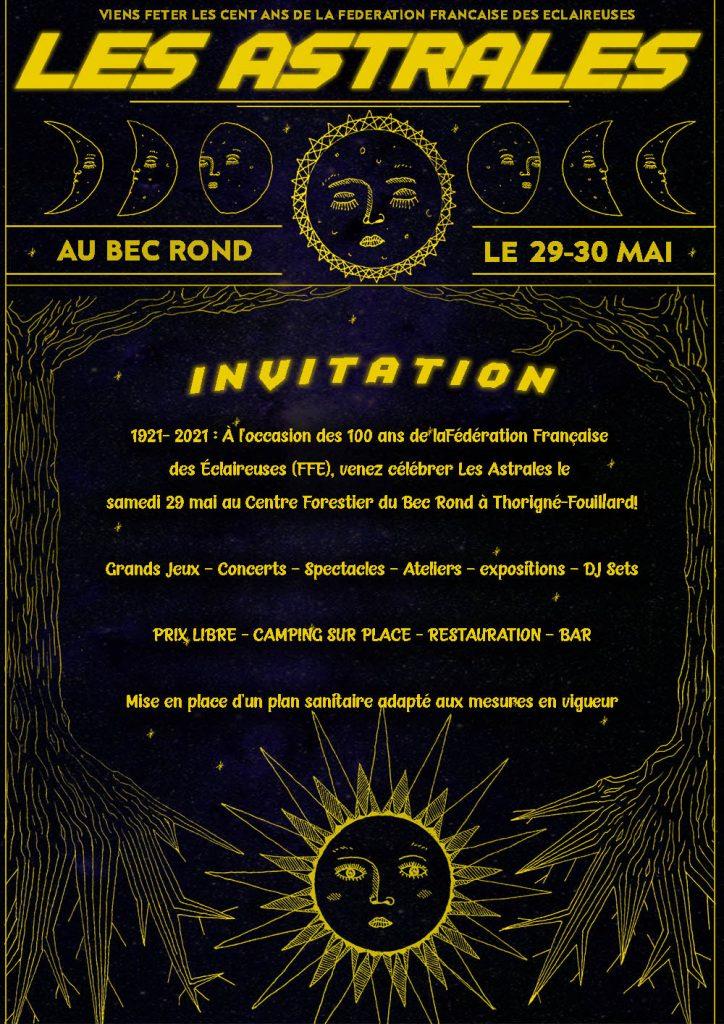 Les Astrales, centenaire de la FFE au Bec Rond (35) !