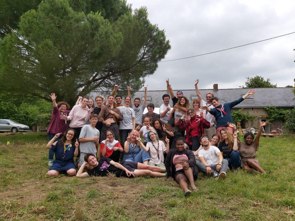 Session BAFA générale à Pannecé, juste avant les camps d'été !